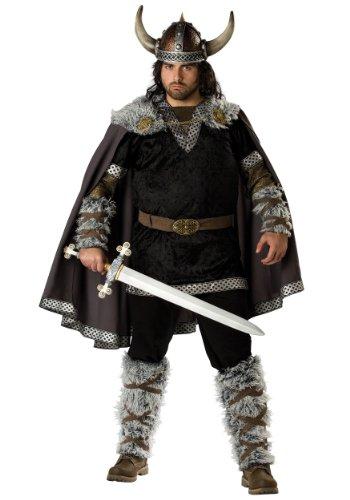 Viking Warrior Costumes - Viking Warrior Adult Costume - XX-Large