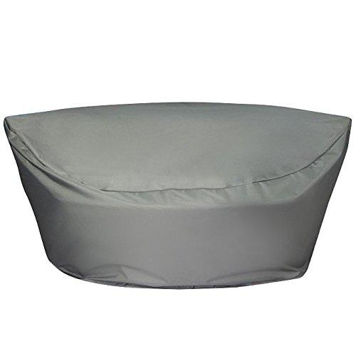 Regenschutz für Rattan Strandkorb SYLT - 165x140x75