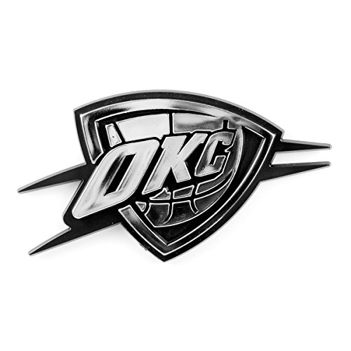 NBA Oklahoma City Thunder Chrome Automobile - Outlet Oklahoma Stores City