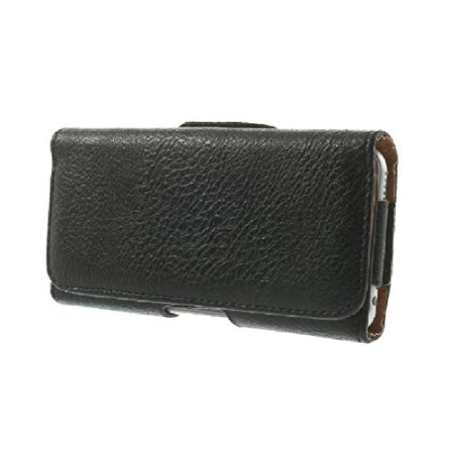 - DFV mobile - Case Belt Clip Synthetic Leather Horizontal Premium for => INFOCUS A1 M500 > Black