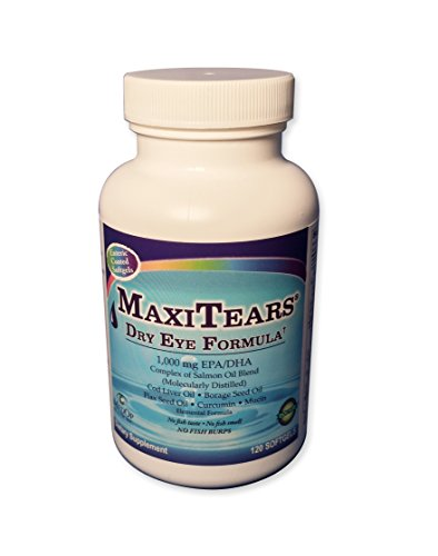 MedOp MaxiTears® Dry Eye Formula 120 softgels by MaxiTears