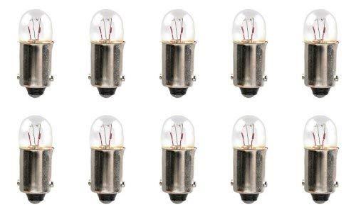 CEC Industries #3894 Bulbs, 12 V, 3 W, BA9s Base, T2-3/4 shape (Box of 10)