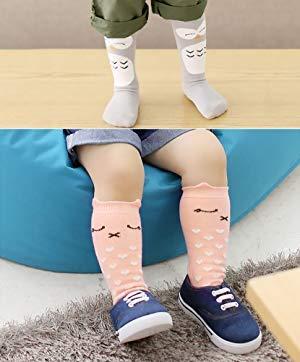 0-12 Months 6 Pairs Animal Knee High Socks Unisex Baby /& Toddler Girls//Boys Socks