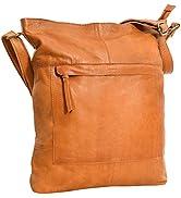 Gusti Handtasche Leder - Maola Ledertasche Umhängetasche Laptoptasche Schultertasche Leder Damen