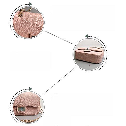 Axiba Bolsa de Mujer Bolso Multifuncional Móvil Shoulder Messenger Color de rosa