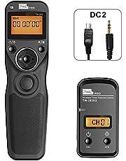 Pixel Wireless Shutter Release cable Timer Remote Control Compatible for Nikon D5600 D3100 D3200 D3300 D5000 D5100 D5200 D5300 D5500 D90 D7000 D7100 D7200 D600 D610 D750 Coolpix P7700 P7800 Coolpix A