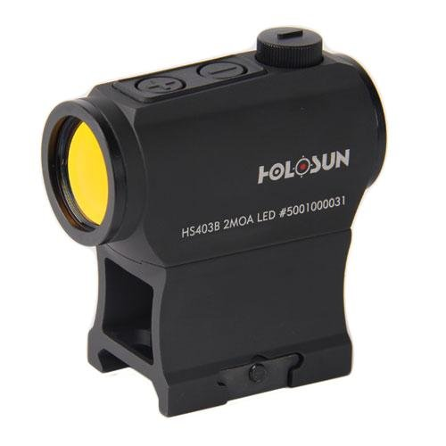 HOLOSUN HS403B Micro Red Dot Sight (2 MOA) with AR Riser by HOLOSUN (Image #1)