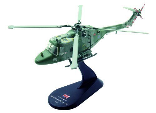 (Westland LYNX AH.7 diecast 1:72 helicopter model (Amercom HY-10))