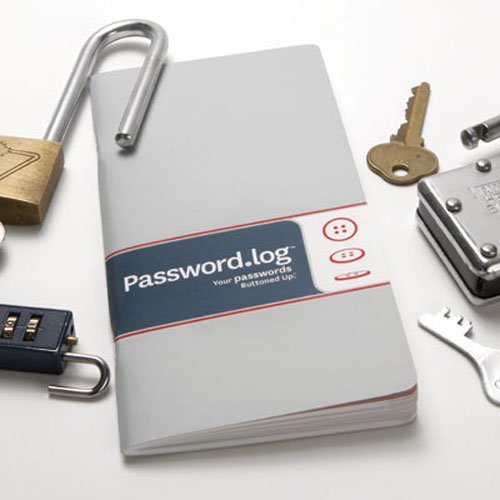 Password Log by Buttoned Up