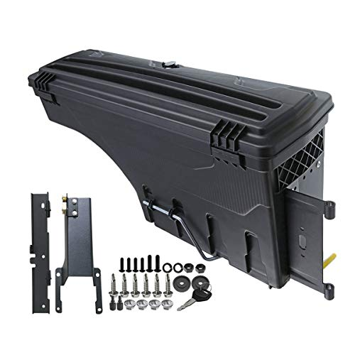 - A-Premium Storage Box Case Truck Bed for Ford F-150 2015-2019 Rear Left Driver Side