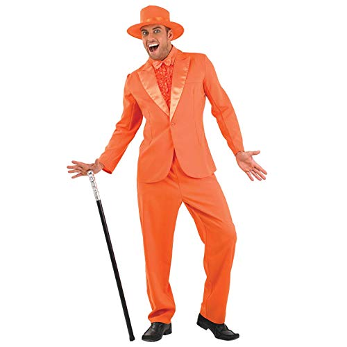 fun shack Mens 90s Movie Orange Suit, Medium for sale  Delivered anywhere in USA