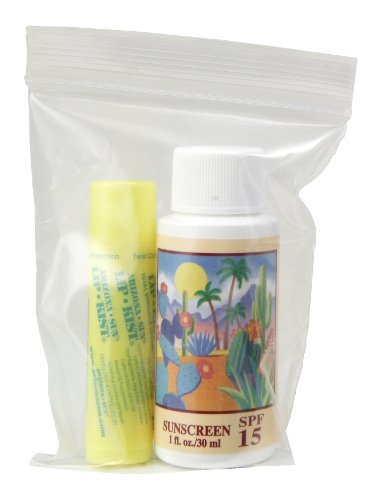 1oz. Sunscreen - Lip Kist -in Ziplock Bag - Sun Protection Sun Screen - Sun Block for Body and Lips - UVA and UVB Sunblock by Arizona - Arizona Malls In Shopping