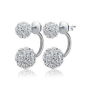 TPS Jewelry U Shape Stud Earring For Women and Girls