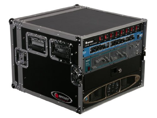 Prosound 8 Space Economy Flight Rack Case