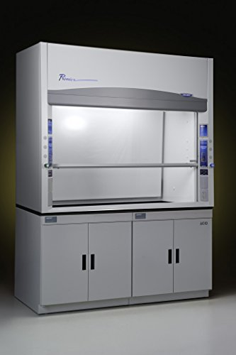 LABCONCO/BUCHLER 100600070 Protector Premier Laboratory Hood with Built-In Exhaust Blower, Explosion-Proof, 6' Nominal Width, 72