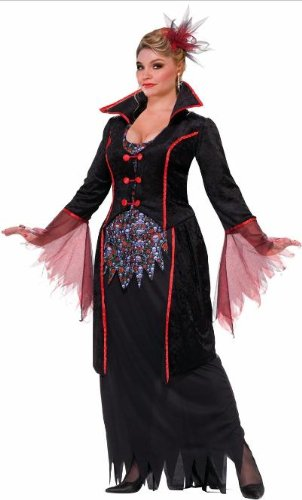 Forum Novelties Women's Plus-Size Lady Von Blood Vampire