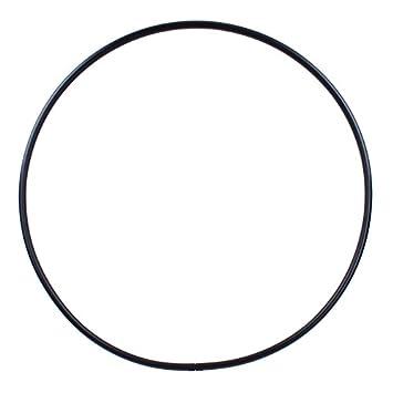 Hula Hoop en Blanco PE-25mm Negro