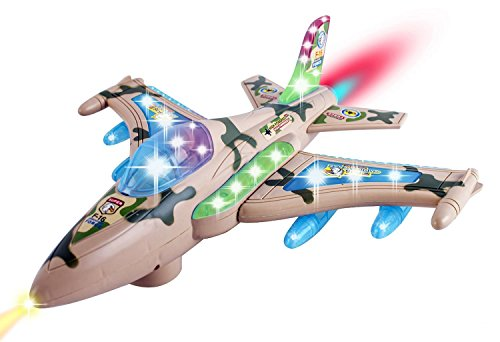 Military Fighter Action Airplane Flashing