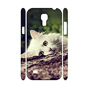Customized Personalized Animal Series Cute Cat Pattern Snap on Hard Phone Accessories Cell Phone Cover Skin for Samsung Galaxy S4 Mini I9195 Case