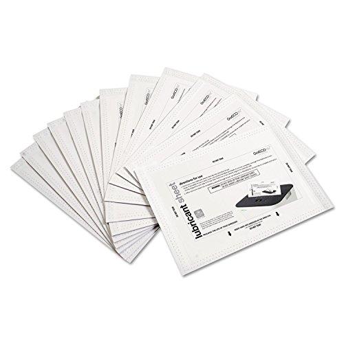 "- Shredder Lubricant Sheets, 8 1/2"" x 5 1/2"", 24 per Pack"