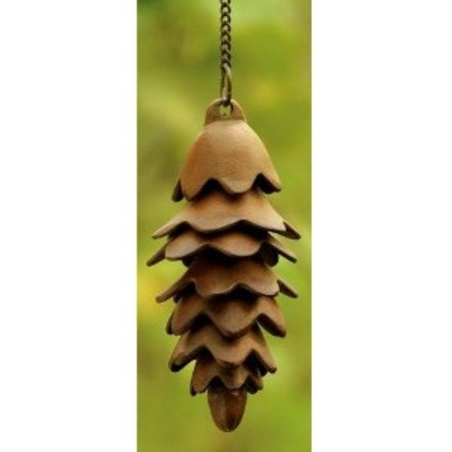 (SPI Home 32729 Pinecone Wind Chime)