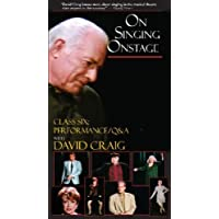 On Singing Onstage (VHS Tape #6) (Includes Study Guide)