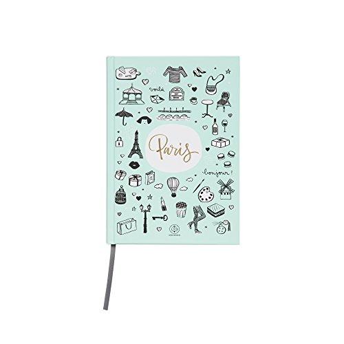 Mr. Wonderful lsa00108fr Notebook Lovely Streets–Sketch The World Paris by Mr. Wonderful