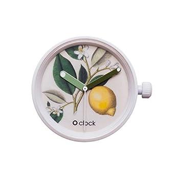 fullspot O clock caja Botanical mecanismo amarillo
