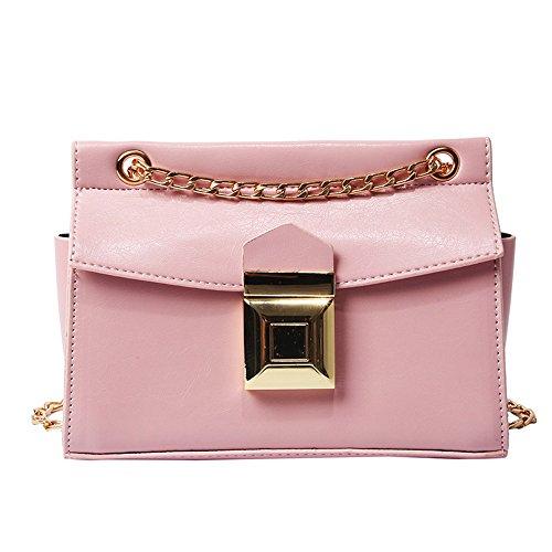 En Main Pink Sac Crossbody Nouveau Miroir Bandoulière Blanc Meaeo Sac À À Verni Cuir wtvqZq