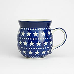 Polish Pottery Lady Mug – Midnight Star