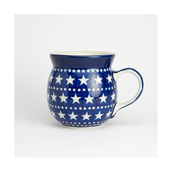 Polish Pottery Lady Mug – Midnight Star
