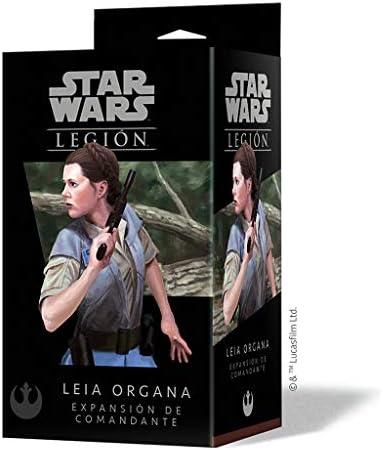 Fantasy Flight Games Star Wars Legion: Leia Organa - Expansion para juego de mesa, Español: Amazon.es: Juguetes y juegos