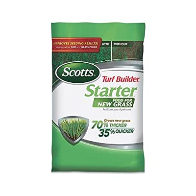 Scotts Lawns 21605 Turf Builder Starter Fertilizer, 24-25-4, Covers 5,000-Sq.-Ft.