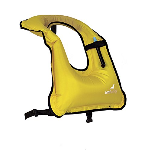 Sealbuddy Adult Life -diving Snorkeling Vest Yellow