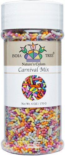 Ship Sprinkles (India Tree Nature's Colors Carnival Sprinkles, 6 Ounce )