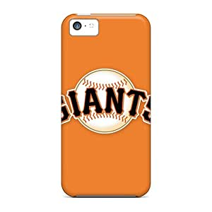 Protective Tpu Case With Fashion Design For Iphone 5c (baseball San Francisco Giants 1)