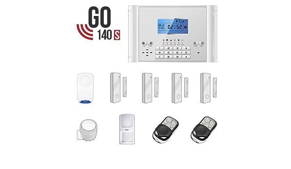 Kit de alarma antirrobo alarma casa transmisor GSM y Wi-Fi ...