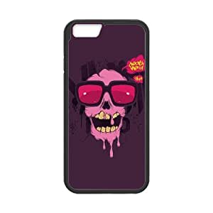 "HXYHTY Skull Art 2 Phone Case For iPhone 6 (4.7"") [Pattern-5]"