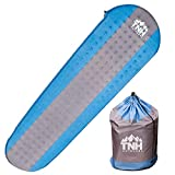 #1 Premium Self Inflating Sleeping Pad Lightweight Foam Padding and Superior Insulation Great for Hiking & Camping Thick Outer Skin