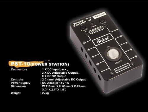 Kmise A1776 PST-10 Belcat Power Station Only Pedal for 9V Guitar Bass Effect by Kmise
