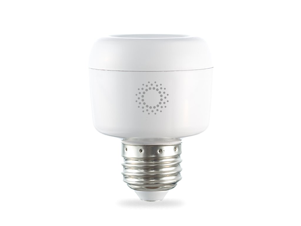 emberlight Socket, Wi-Fi Smart Light Bulb Adapter, White, Works with ...
