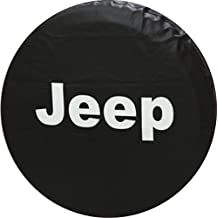 Automelody ® 28-33inch Spare Tyre Cover Tire Cover Black For Jeep Wrangler + Swing Gift Packing Bag (32-inch)