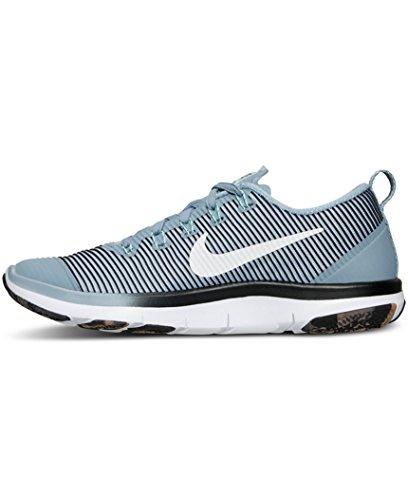 Nike Free Train Versatility, Zapatillas de Gimnasia para Hombre Azul (Blue Grey / White-Black-Hypr Trq)