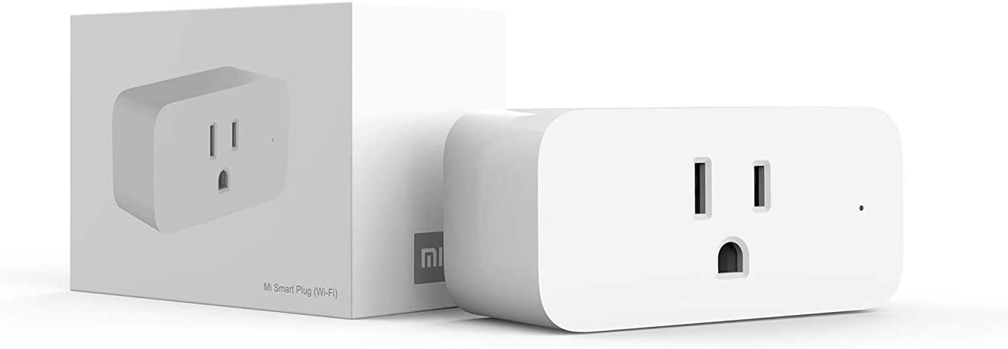 Xiaomi Wifi Smart Plug Mini Outlets, No Hub Required, App Control from Anywhere (1 Pack)