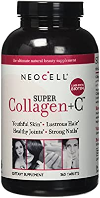 NeoCell Super Collagen Type I & III + Vitamin C - 360 Tablets