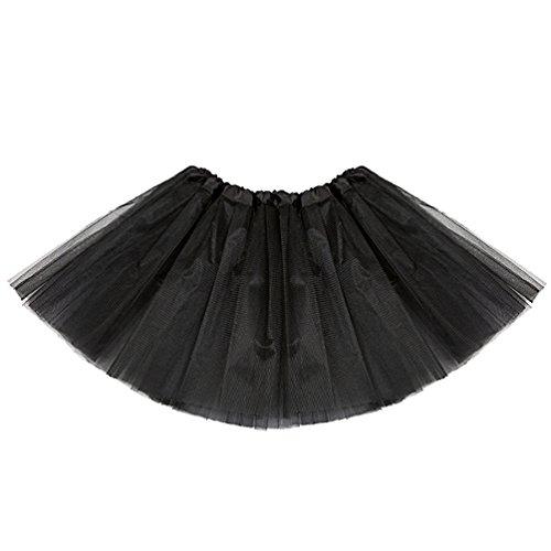 Enfant Ballet Adulte Dguisement Femme Deguisement Fille Petticoat Tulles Danse Mini Tutu Classique Pettiskirt Jupon jupe Jupe Bouffante Jupe Froufrou Courte Tutu Jupes Noir Tulle XxvqCR