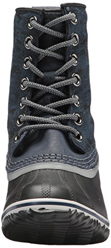 Boot Collegiate Black Calf Mid Slimpack Womens 1964 SOREL Navy Z1FUq