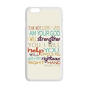 Generic Mobile Cell Phones Cover For Apple iPhone 6 case 4.7 inch Bible Verse Design Plastic phone Cases Protective Shell Personalized Pattern Skin WANGJING JINDA