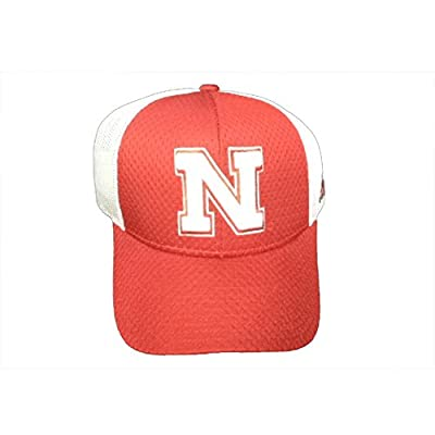 Nebraska Cornhuskers Adidas Structured Adjustable Hat