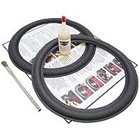Advent 10 Speaker Foam Surround Repair Kit - Flat-attach Roll, Metal or Masonite Disk